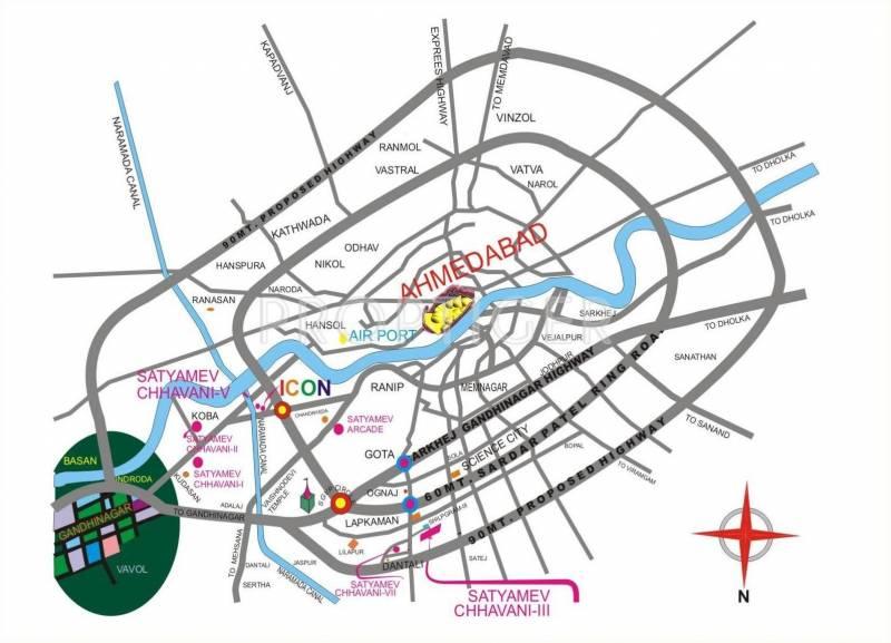 Images for Location Plan of Shree Gayatri Realty Satyamev Chhavani VII