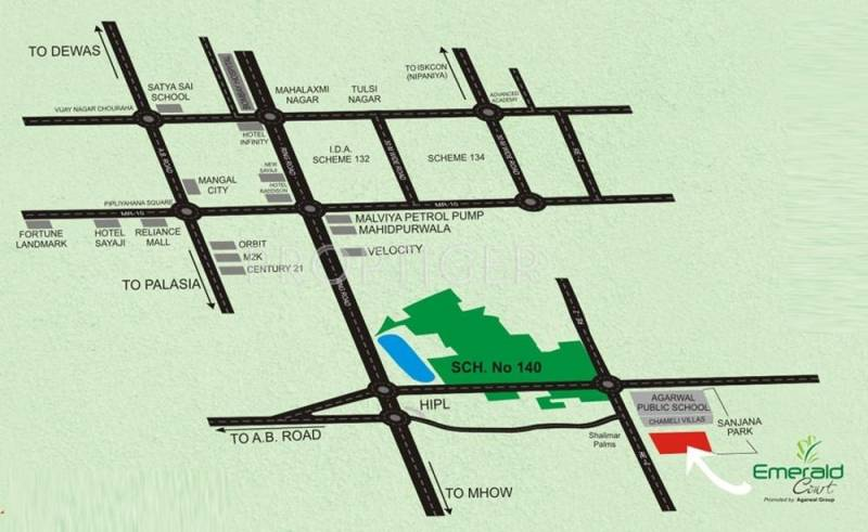Images for Location Plan of Sunil Emerald Court