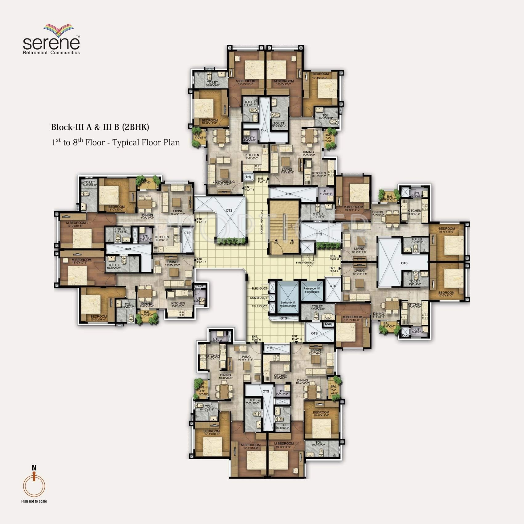 635 Sq Ft 1 Bhk 1t Apartment For Sale In Ozone Group Serene Urbana Devanahalli Bangalore