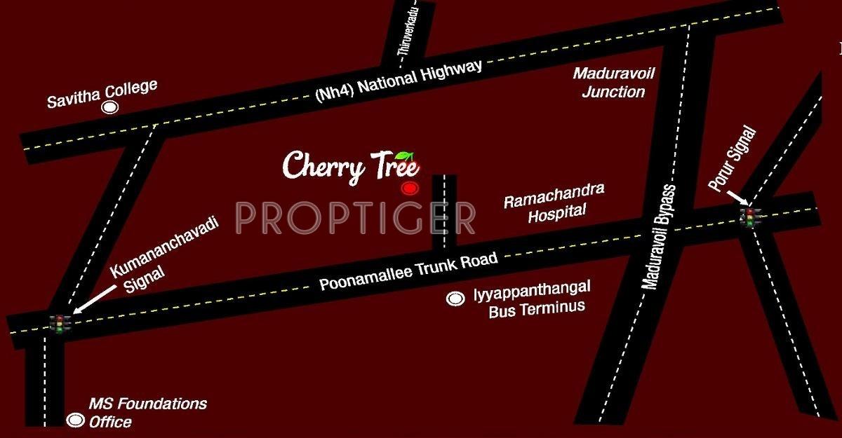 MS Cherry Tree in Iyappanthangal, Chennai - Price, Location