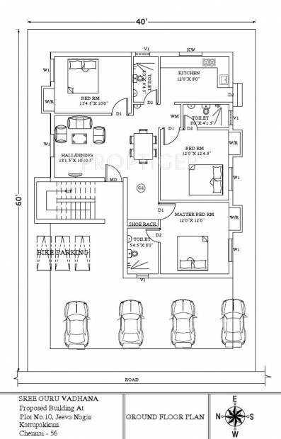 Images for Cluster Plan of Sree Guru Vadhana