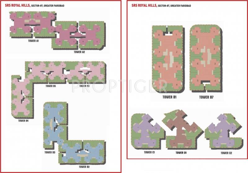 Images for Layout Plan of SRS Group Royal Hills