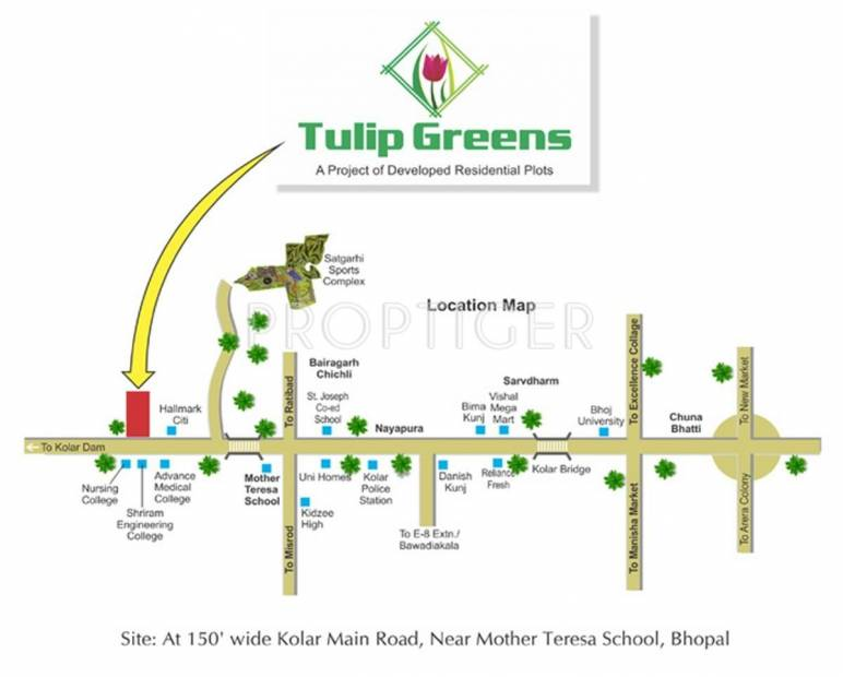 Images for Location Plan of Fortune Tulip Greens