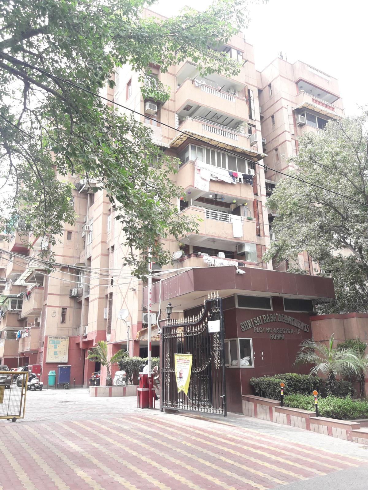 CGHS Shri Sai Baba Apartments in Sector 9 Rohini, Delhi