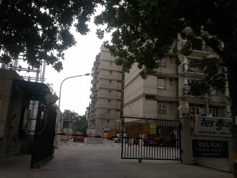 Images for Elevation of Swaraj Rail Kunj Apartments