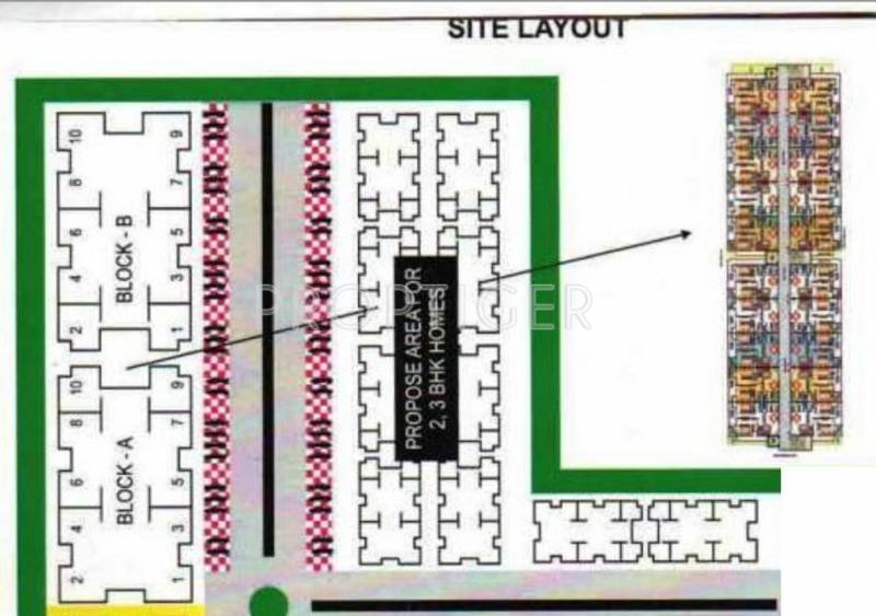 Images for Layout Plan of Asian Sri Sai Heritage
