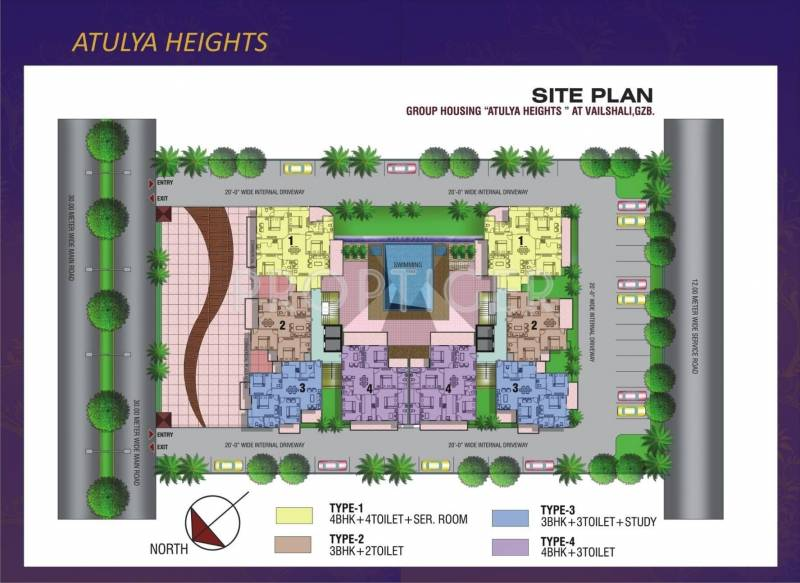 atulya-heights Images for Layout Plan of Deepsons Atulya Heights