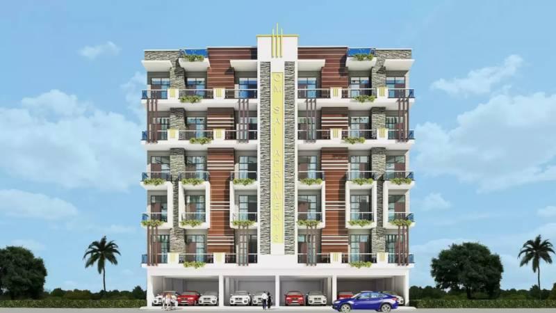 om-sai-apartments Elevation