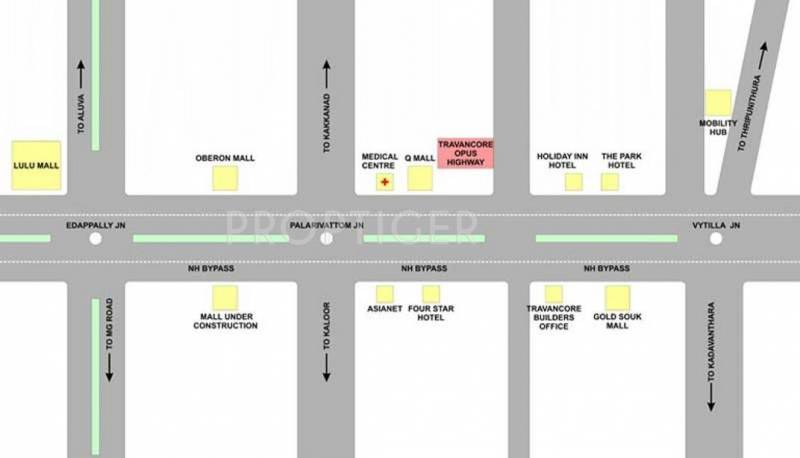 Images for Location Plan of Travancore Opus Highway