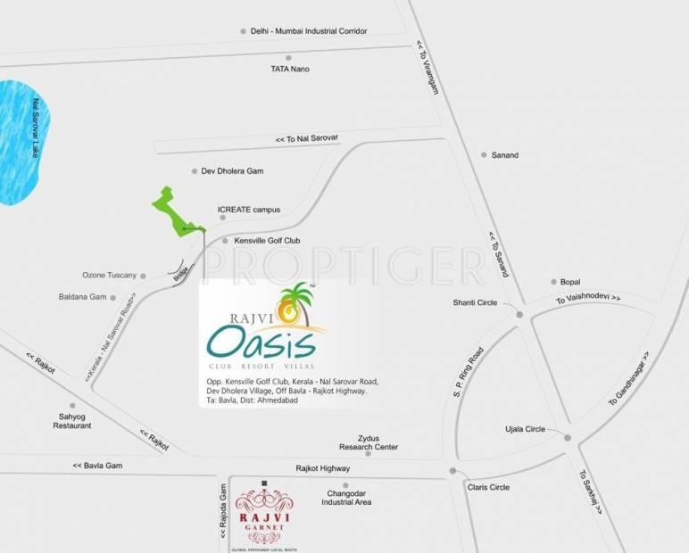 Images for Location Plan of Shivam Rajvi Oasis