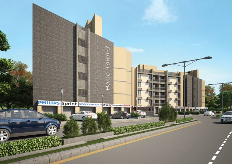 Images for Elevation of Prasthan Home Town 3