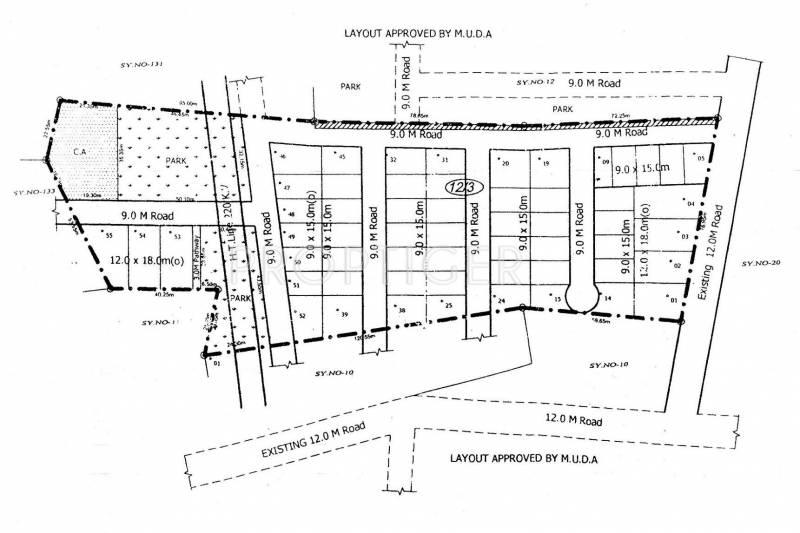 Images for Layout Plan of Vyasti Urbane