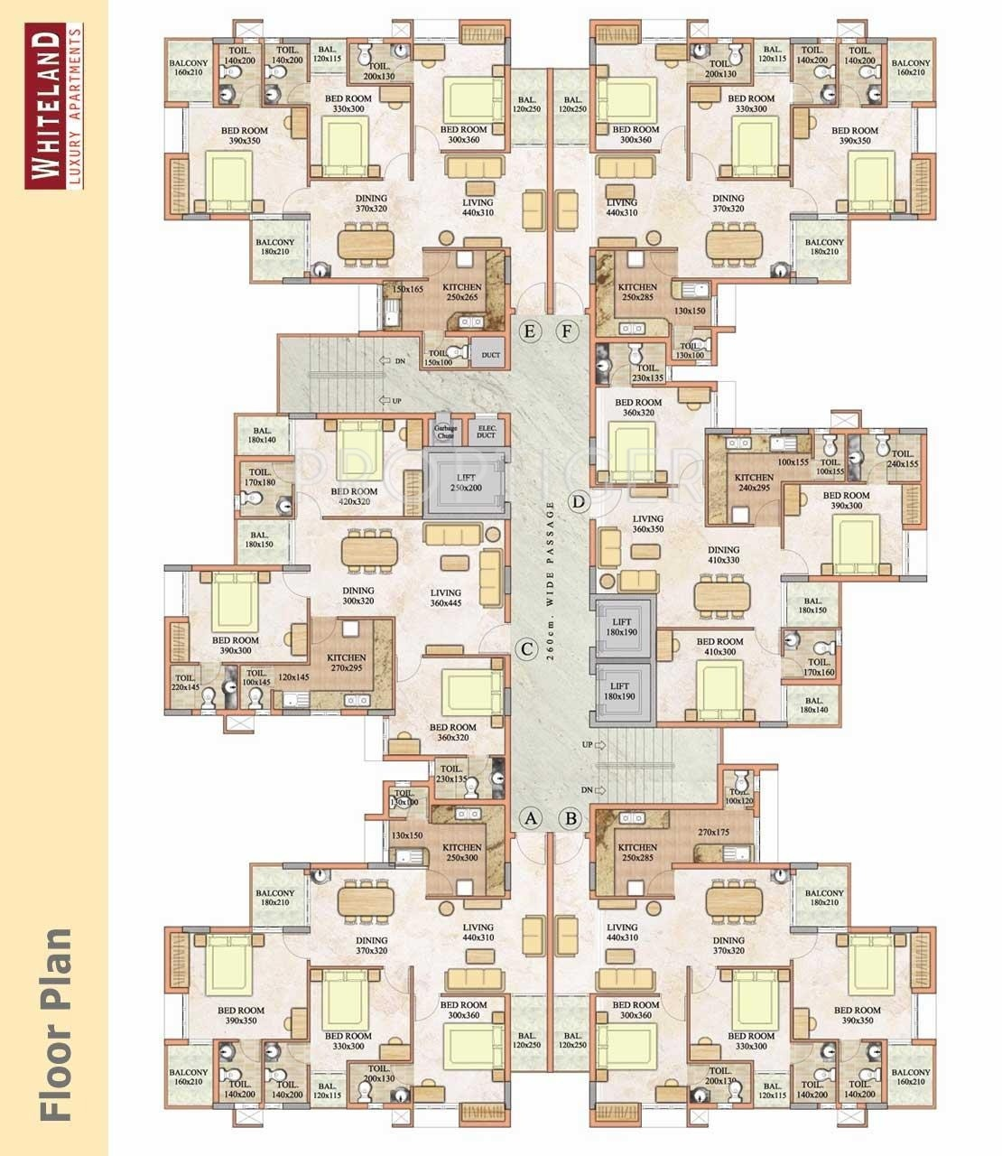 1435 sq ft 3 bhk 4t apartment for sale in travancore for Apartment plans for sale