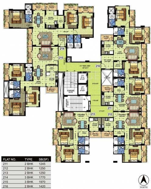 Images for Cluster Plan of BRG Nirvana Arcade
