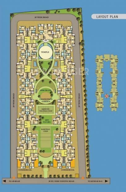 Images for Layout Plan of MGR Sahaj Residency