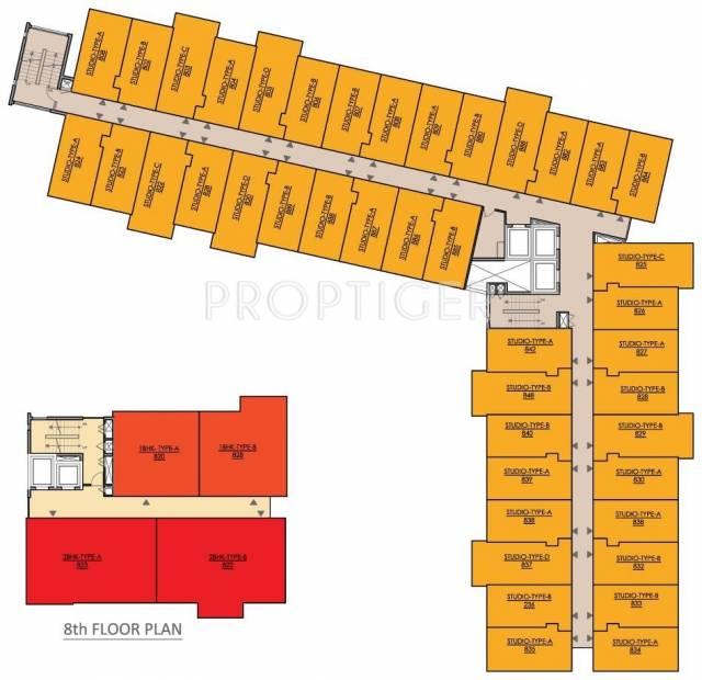 studio-panache Images for Cluster Plan of Mahima Studio Panache
