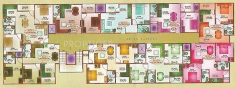 Images for Cluster Plan of Landmark Anand Vrindavan Dham