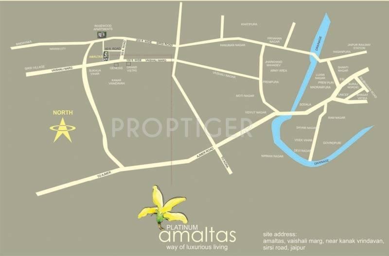 Images for Location Plan of Platinum Amaltas