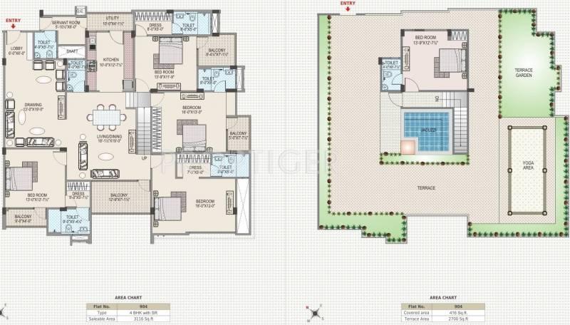 Images for Cluster Plan of Upasna Karan Upasana Residency