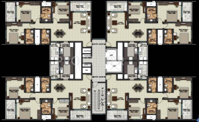 Images for Cluster Plan of Sobha Silicon Oasis