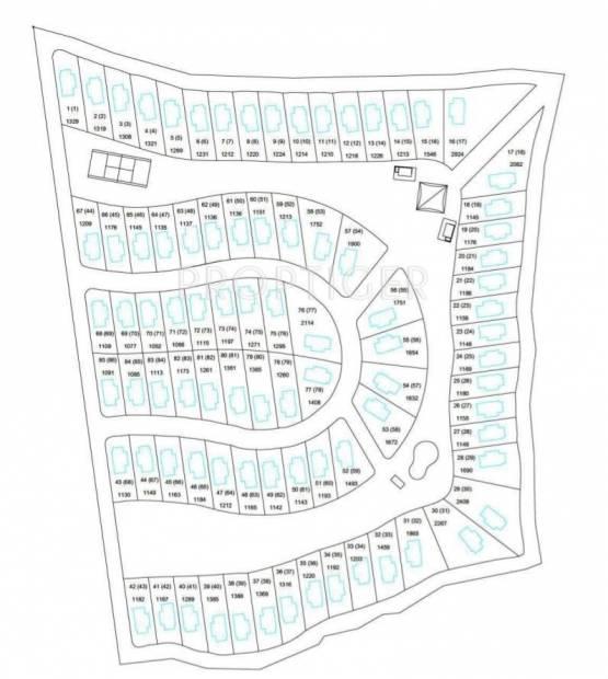 Images for Site Plan of Amaya 129 Weekend Villas