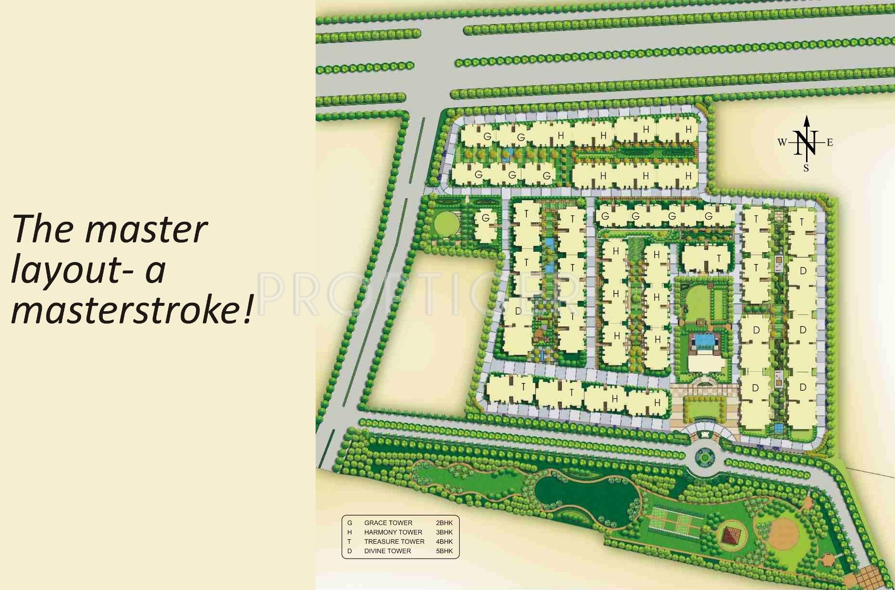 1699 Sq Ft 3 Bhk 3t Apartment For Sale In Ibd Belmont Park