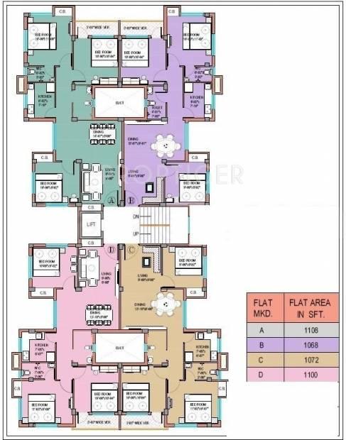 Images for Cluster Plan of Basundhara Homes