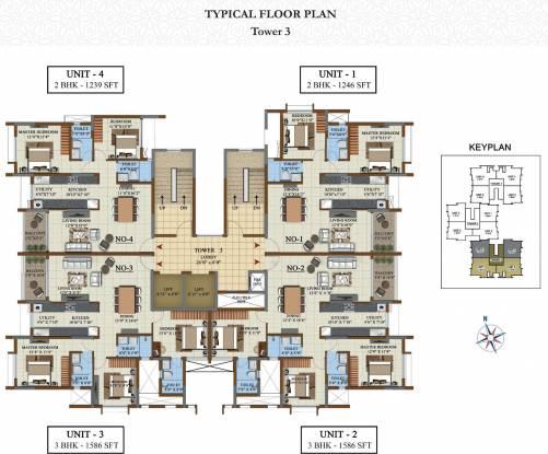 opus Images for Cluster Plan of Salarpuria Sattva Opus