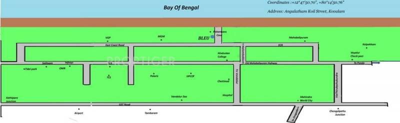 Images for Location Plan of Vijay Shanthi Bleu