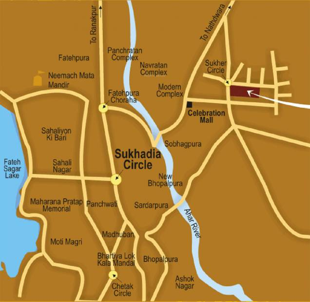 Images for Location Plan of Alliance Asia Anmol