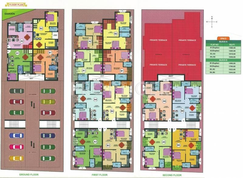 Images for Cluster Plan of Meridian Sembakkam