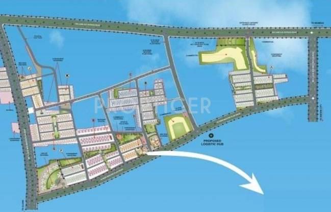 Images for Layout Plan of Dhoot Vistara Plot