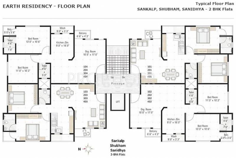 earth-residency Samprat Cluster Plan