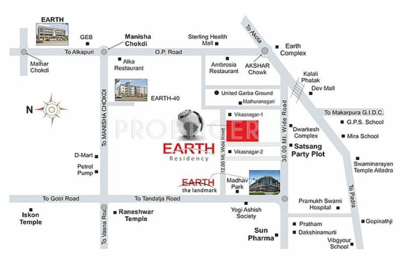 earth-residency Images for Location Plan of Earth Earth Residency