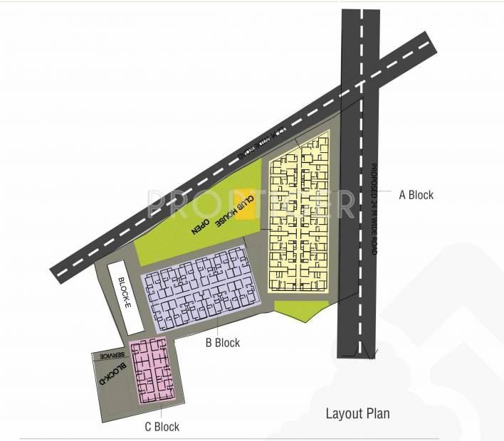 Images for Layout Plan of Agrawal Sagar Eden Garden