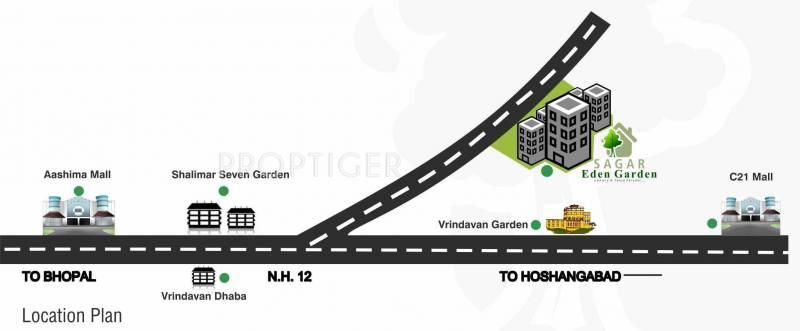 Images for Location Plan of Agrawal Sagar Eden Garden