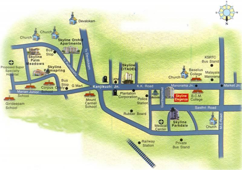 Images for Location Plan of Skyline Elegenza