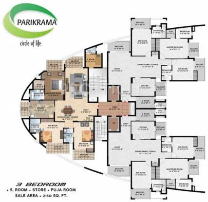 Images for Cluster Plan of Suncity Parikrama