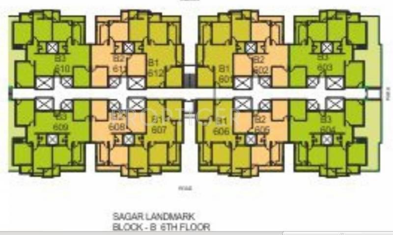 sagar-landmark Block C Cluster Plan