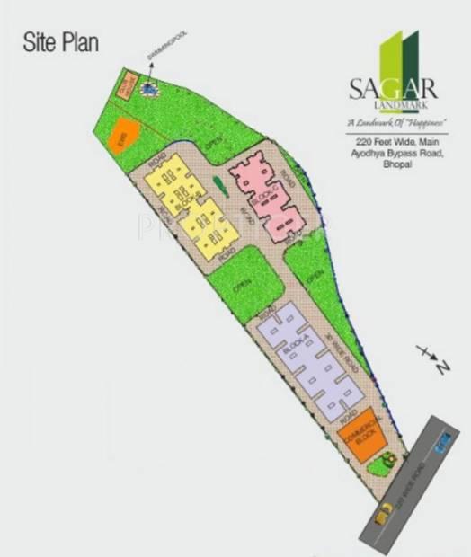 sagar-landmark Images for Layout Plan of Agrawal Sagar Landmark