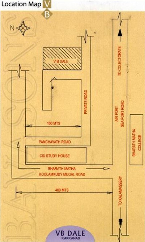 Bavasons V B Dale in Kakkanad, Kochi - Price, Location Map