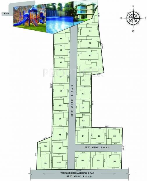 Images for Layout Plan of AVR Krishna Villa