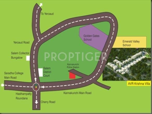 Images for Location Plan of AVR Krishna Villa