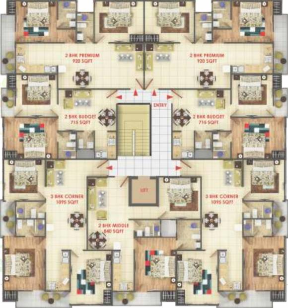 Images for Cluster Plan of Ansar Ashiyan