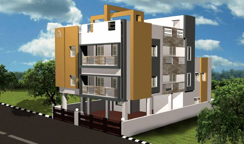 Images for Elevation of KVR Builders Sree Padmavathy