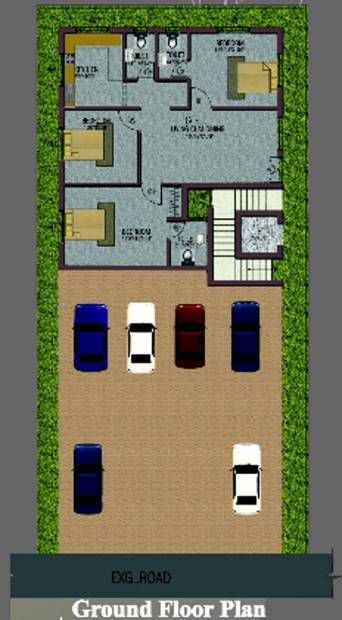 Images for Cluster Plan of Ganapathy Vivek Enclave
