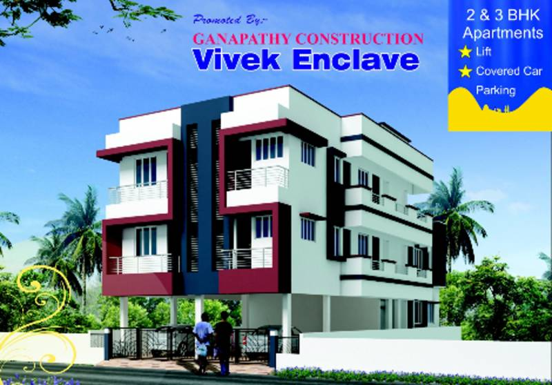 Images for Elevation of Ganapathy Vivek Enclave