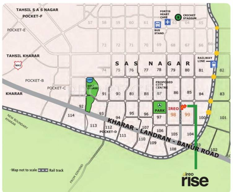 Images for Location Plan of Ireo Rise