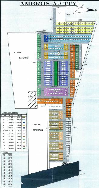 Images for Layout Plan of Ambrosia Infraheight Pvt Ltd Ambrosia City