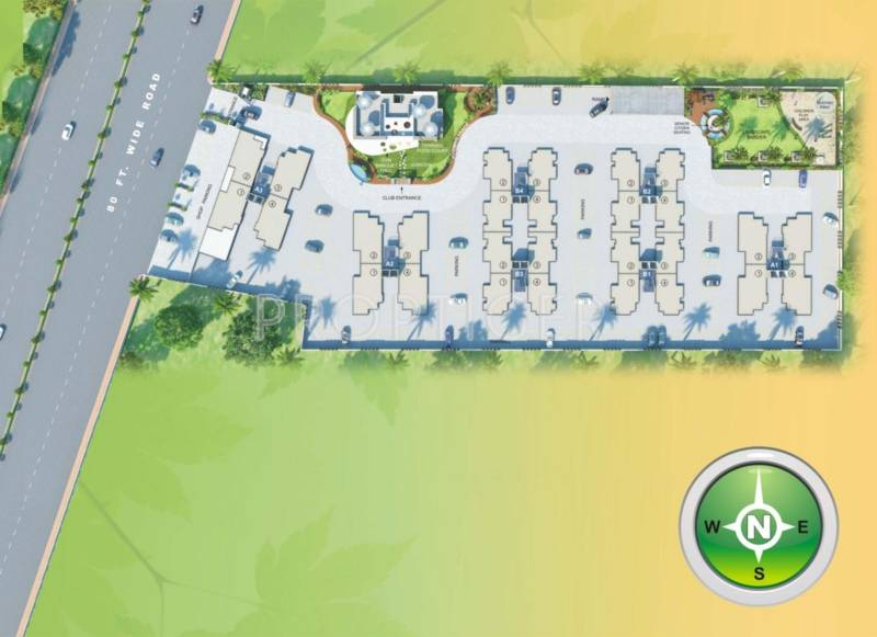 Images for Layout Plan of Happy Home Sapphire Green